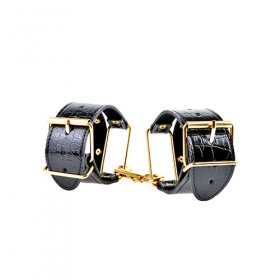 MANETTE FETISH FANTASY GOLD CUFFS