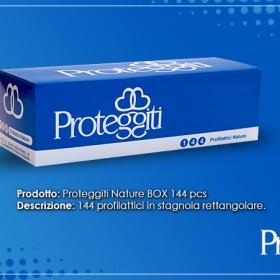 Profilattici: proteggiti nature box da 144