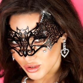 """Accessori : maschera filigranata con strass. """" 4 """""""