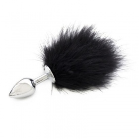 Plug anale pon tail (small) anal plug black