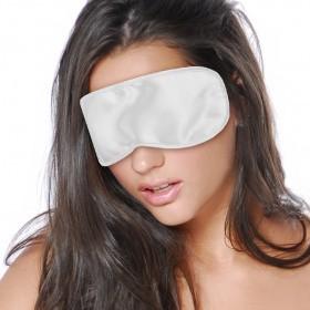 Satin Love Mask White