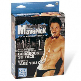Bambolo gonfiabile sexy Marvelous Maverick