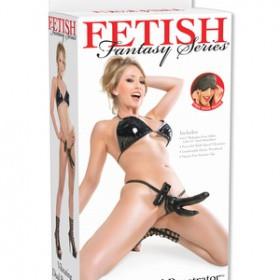 Fetish Fantasy Series  vibrazione doppio Penetrator